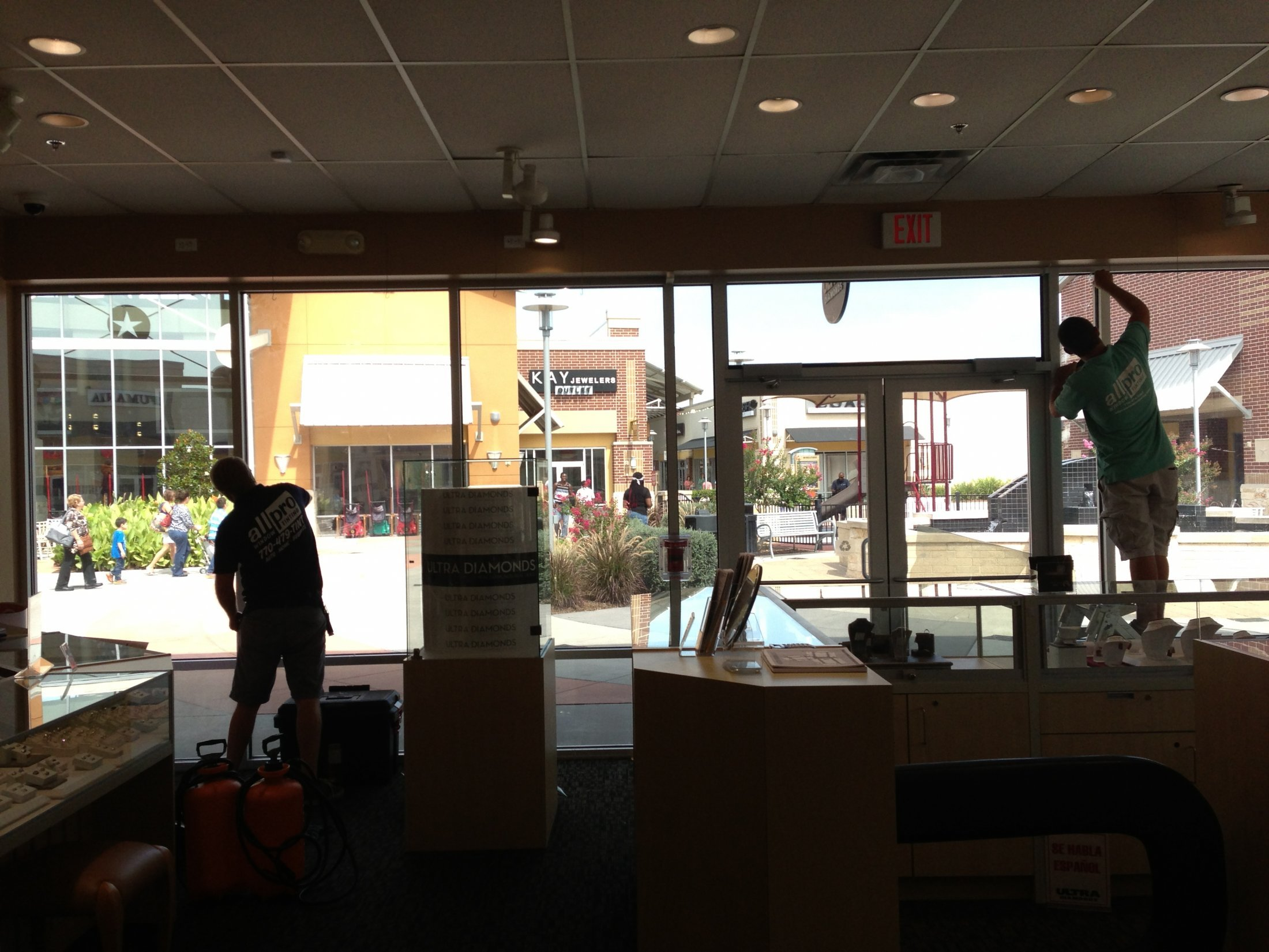 Commercial Gallery   Commercial Window Tint   All Pro Window