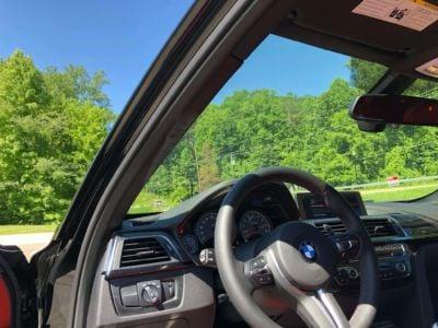 BMW M3 SECH Windshield #3